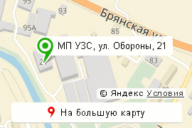 карта МП УЗС