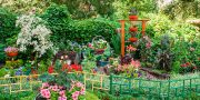Самый зеленый двор — ул. Курчатова , 10  МП «МУК Красноярская»,  Октябрьский район