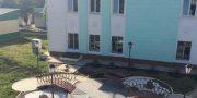 САМАЯ БЛАГОУСТРОЕННАЯ ТЕРРИТОРИЯ УЧРЕЖДЕНИЯ  СОЦИАЛЬНОЙ СФЕРЫ — ул. Транзитная, 27 (Железнодорожный  вокзал «Злобино»)