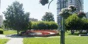 Сквер «Цветочные часы»