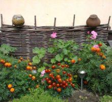 плетеный забор красноярск 3
